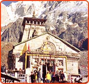 Kedarnath Temple in Himalayas