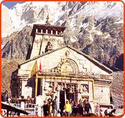 Kedarnath Temple in Himalayas